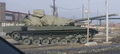 T-14 fångad i Nizhny Tagil
